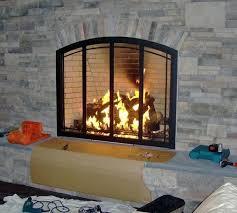 fireplace screens with doors custom fireplace doors fireplace surrounds fireplace screens doors home depot