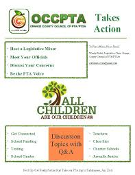 Pta Elections Flyer Advocacy