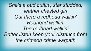 Rem redhead walking lyrics