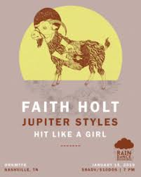 Hit Like a Girl, Jupiter Styles, Faith Holt @ DRKMTTR