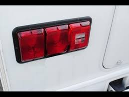 replacing the leaking tail lights on my motorhome youtube bargman 156016 at Bargman Tail Light Wiring Diagram