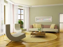interior design living room color. Unusual Grey Curved Single Couch With Modern Gray Fabric Sofa And Wooden Cocktail Table On Round Living Carpet As Decorate Soft Room Paint Ideas Interior Design Color