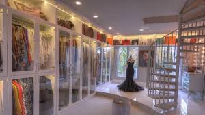 the wardrobe features display lighting and a state of the art sound system so you can