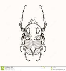 вручите вычерченный эскиз гравировки жука скарабея смогите