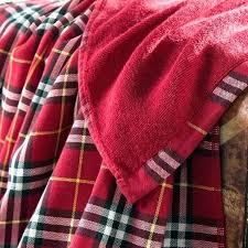 buffalo plaid bathroom towels red and black bath heart of diamonds hand towel style plus size