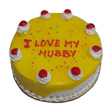 Classical Pineapple Cake Birthday Cakes Birthday Cake For