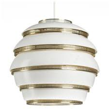 beehive ceiling light by alvar aalto