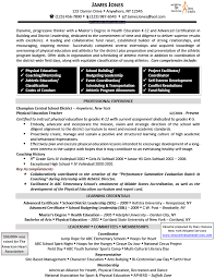 Health And Physical Education Teacher Cover Letter