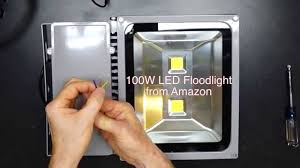 Led Halogen Equivalent Chart 100 Watt Led Vs 500 Watt Halogen Floodlight Comparison