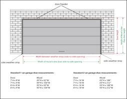 rumors lies and 2 car garage door size