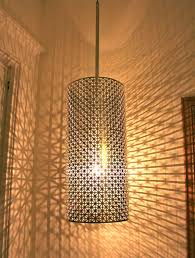 lamps living room lighting ideas dunkleblaues. Cool Lamp- Get Some Metal Sheeting Like This From Radiator Covers That I Could Use To Recreate For Bathroom Pendant Lamps Living Room Lighting Ideas Dunkleblaues
