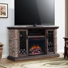 capitan electric fireplace tv stand in stone 23mm10646 i613 tap to expand