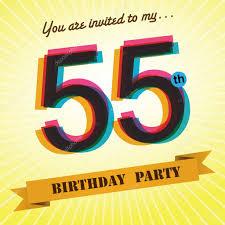 Happy 50th Birthday Tarpaulin Designs Birthday Design Tarpaulin 55th Birthday Party Invite