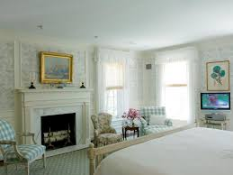 Modern Gray Bedroom Design Window Covering French Country Master - Master bedroom window treatments