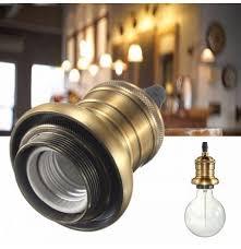 e27 e26 light holder antique retro
