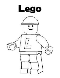 Lego 16 De Beste Kleurplaten Lego Birthday Lego Coloring