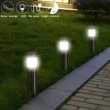 Solar Garden Lights Ebay Details About Stainless Steel Pathway Led Solar Light Outdoor Garden Path Landscape Light