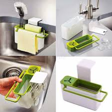 attach it to the sink or to the door of a cabinet practical and light the holder cleans easily with liquid soap moreover when you do not want to leave