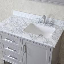 42 inch bathroom vanity. Ace 42 Inch Single Taupe Grey Bathroom Vanity