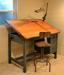 art desk easel drafting tables in interior designs vintage tilt top drafting desk step2 art