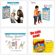 Kids Toddler Learning Electronic Interactive Alphabet Wall Chart Talking Abc 123