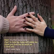 Photo Editor With Love Quotes Impressive Just Hold My Hand Love Quotes Name Picture Free Print Name Hold