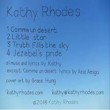 4 Jezebel's Pride by Kathy Rhodes Folk Indie