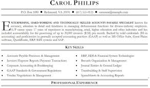 best ideas of accounts payable specialist resume sample on sheets - Accounts  Payable Resume Sample