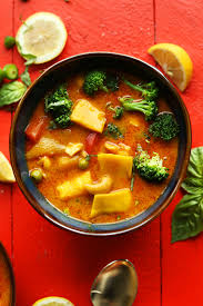 Thai Kitchen Yellow Curry Thai Yellow Curry With Mango Minimalist Baker Recipes