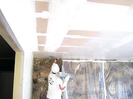 get rid of popcorn ceiling removal