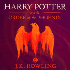 harry potter and the order of the phoenix audiobook by j k rowling