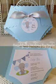 Diaper Invitations Diaper Baby Shower Invitations Baby Showers Ideas