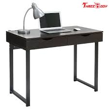 Modern office table Sleek Black Modern Office Table Writing Desk With Drawers Study Home Office Furniture Indiamart Black Modern Office Table Writing Desk With Drawers Study Home