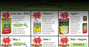 cedar creek nursery chemicals whether you know exactly what you are looking for or just need a few ideas cedar creek nursery is here to help