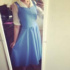 Belle Blue Dress Pattern Extraordinary Belle Town Dress Tutorial Pt 48 Cosplay Amino