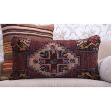 sold out oriental hand knotted rug cushion anatolian lumbar sofa throw pillow
