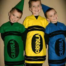 crayon costume diy