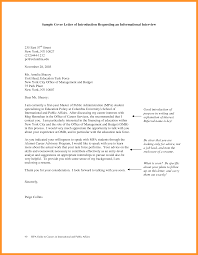 Letter To Interview 9 10 Letter Requesting An Interview Loginnelkriver Com