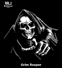 pumpkin drawing with shading. grim reaper pumpkin pattern by kamose drawing with shading