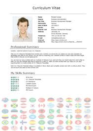 Free CV Templates  International Short  Download
