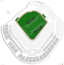 Marlins Stadium Seating Chart Marlins Park Football Seating Rateyourseats Com