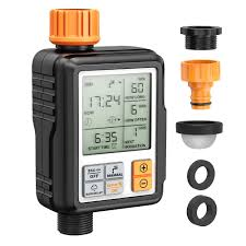 <b>LCD Electronic Automatic</b> Irrigation System Sprinkler Water Hose ...