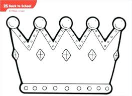 Crown Template Classy Birthday Crown Template Printable Rightarrow Template Database