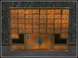 asian office furniture. RE Old Chinese Apothecary Cabinet - Asian Office Or Home Decoration Asian Office Furniture