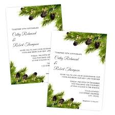 Printable Holiday Party Invitations Pine Cones Wedding Or Holiday Party Invitation Printable Template