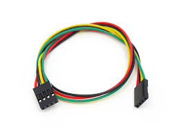 4 pin dual female jumper wire 300mm 5 pcs pack cables 4 pin dual female jumper wire 300mm 5 pcs pack