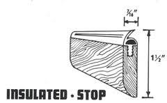 garage door stop moldingPortaseal Fine WeatherStripping Products since 1957