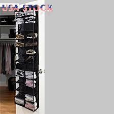 hanging door closet organizer. Brilliant Hanging Phantomx 2 Shoe Rack Storage 26 Pocket Organizer Holder Folding Hanging  Door Closet Hook  On R