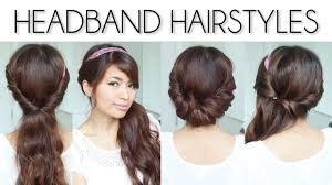 Very Easy Cute Hairstyles Easy Everyday Headband Hairstyles For Short And Long Hair