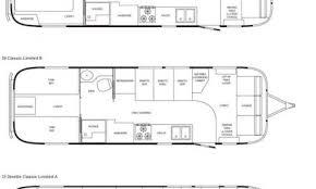 airstream floor plans. Airstream Classic Limited Travel Trailer Floorplans Floor Plans C